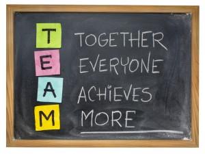 team - teamwork concept